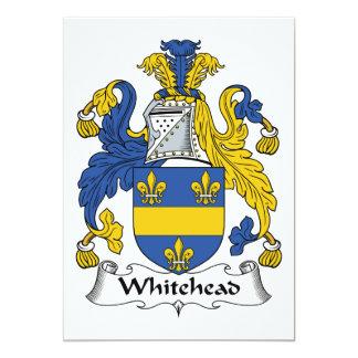 Escudo de la familia de Whitehead Comunicado