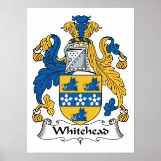 Escudo de la familia de Whitehead Impresiones