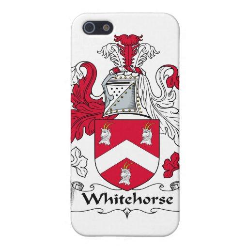Escudo de la familia de Whitehorse iPhone 5 Cárcasa