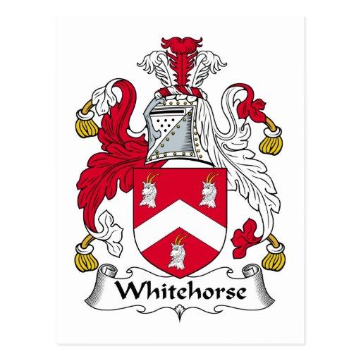 Escudo de la familia de Whitehorse Postal