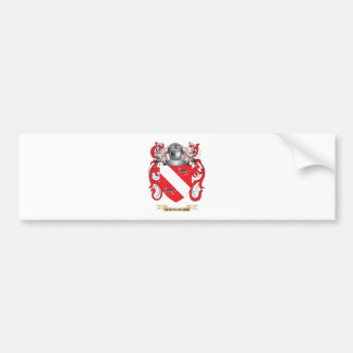 Escudo de la familia de Whitehouse (escudo de arma Etiqueta De Parachoque
