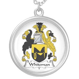 Escudo de la familia de Whiteman Colgantes Personalizados