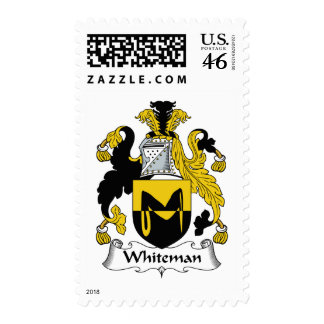 Escudo de la familia de Whiteman Franqueo