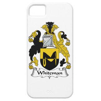 Escudo de la familia de Whiteman iPhone 5 Case-Mate Carcasas