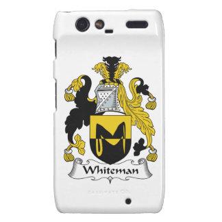 Escudo de la familia de Whiteman Droid RAZR Carcasa