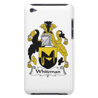 Escudo de la familia de Whiteman Barely There iPod Protectores