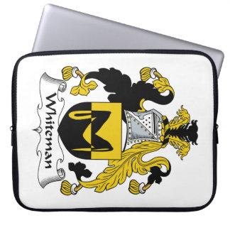 Escudo de la familia de Whiteman Fundas Ordendadores