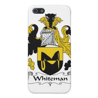 Escudo de la familia de Whiteman iPhone 5 Coberturas