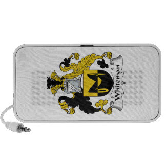 Escudo de la familia de Whiteman iPod Altavoces