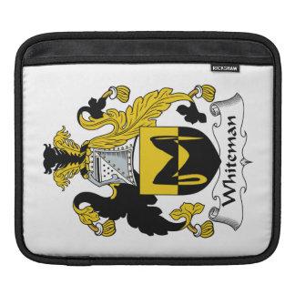 Escudo de la familia de Whiteman Mangas De iPad