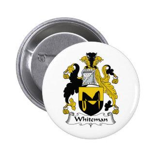 Escudo de la familia de Whiteman Pins