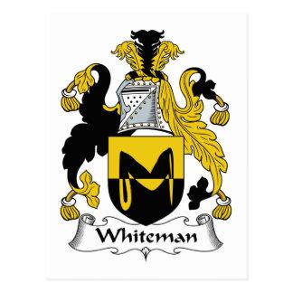 Escudo de la familia de Whiteman Postal