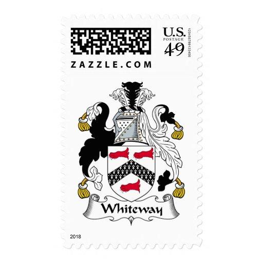 Escudo de la familia de Whiteway Franqueo