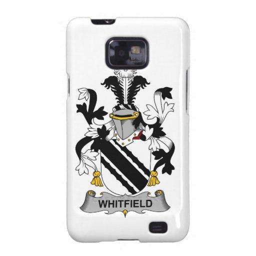 Escudo de la familia de Whitfield Samsung Galaxy SII Carcasas
