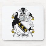 Escudo de la familia de Whitford Alfombrillas De Ratón