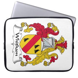 Escudo de la familia de Whitham Fundas Ordendadores