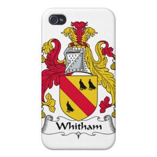Escudo de la familia de Whitham iPhone 4/4S Carcasa