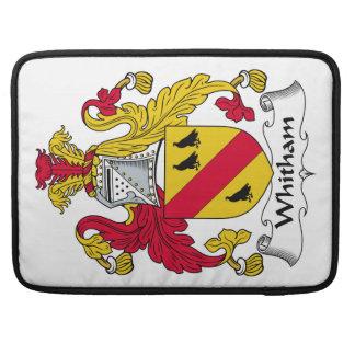 Escudo de la familia de Whitham Fundas Macbook Pro
