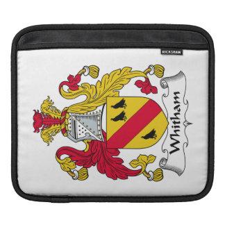 Escudo de la familia de Whitham Fundas Para iPads
