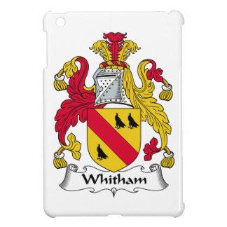 Escudo de la familia de Whitham iPad Mini Carcasas