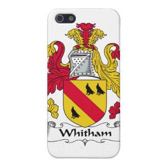 Escudo de la familia de Whitham iPhone 5 Cárcasa