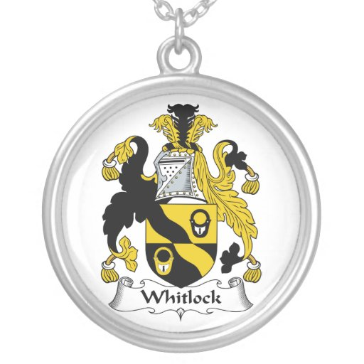 Escudo de la familia de Whitlock Collares