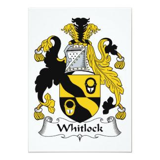 Escudo de la familia de Whitlock Comunicado Personal