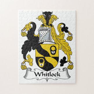 Escudo de la familia de Whitlock Rompecabeza
