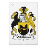Escudo de la familia de Whitman iPad Mini Cárcasa