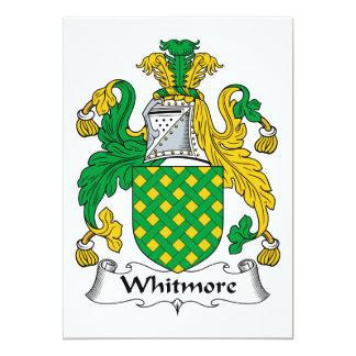 Escudo de la familia de Whitmore Comunicado Personal