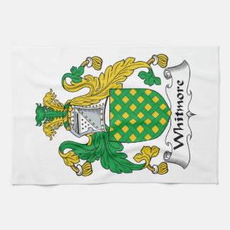 Escudo de la familia de Whitmore Toalla De Mano