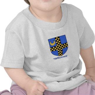 Escudo de la familia de Whitney Camisetas