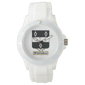 Escudo de la familia de Whittaker Relojes De Mano