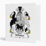 Escudo de la familia de Whitter