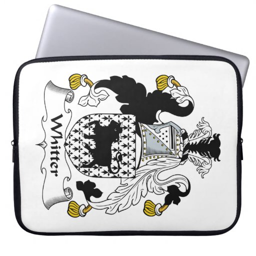 Escudo de la familia de Whitter Manga Computadora
