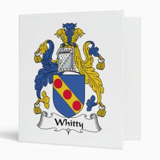"""Escudo de la familia de Whitty Carpeta 1"""""""