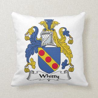 Escudo de la familia de Whitty Cojín