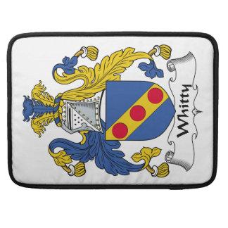 Escudo de la familia de Whitty Funda Macbook Pro