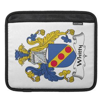 Escudo de la familia de Whitty Funda Para iPads