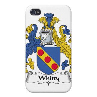 Escudo de la familia de Whitty iPhone 4/4S Funda