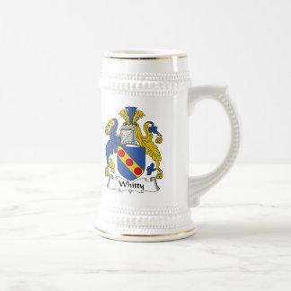 Escudo de la familia de Whitty Jarra De Cerveza