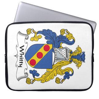Escudo de la familia de Whitty Mangas Portátiles