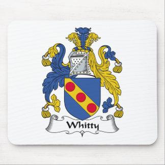 Escudo de la familia de Whitty Tapete De Raton