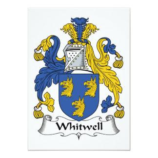 Escudo de la familia de Whitwell Comunicado