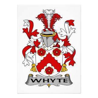 Escudo de la familia de Whyte Anuncios Personalizados