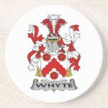 Escudo de la familia de Whyte Posavasos Diseño