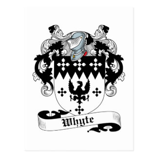 Escudo de la familia de Whyte Postal