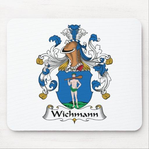 Escudo de la familia de Wichmann Mouse Pad