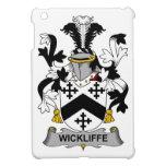 Escudo de la familia de Wickliffe iPad Mini Protectores