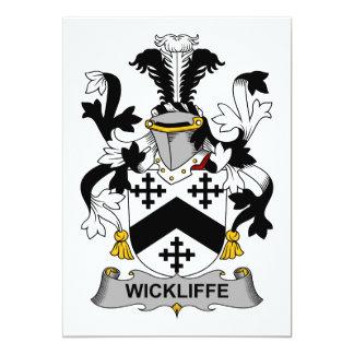 Escudo de la familia de Wickliffe Comunicado Personal